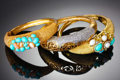 Antiques & Consignments on the Square - Turquoise & Gold Rings
